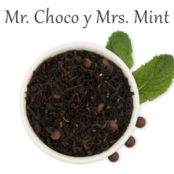 Té negro,menta, chocolate