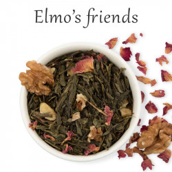 Té verde nueces y rosas - Elmo's friends