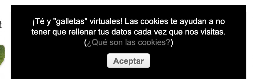Las cookies de Teterum